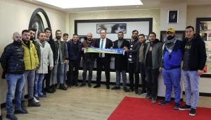 Bucaspor taraftarlarıyla Başkan Piriştina buluşması