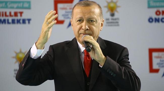Erdoğan: Kusura bakmasın biz onlarla yol yürümeyiz