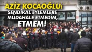 İzmir Büyükşehir'den eylem açıklaması