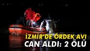 İzmir'de ördek avı can aldı: 2 ölü