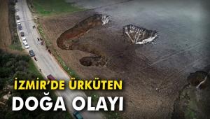 İzmir'de ürküten doğa olayı