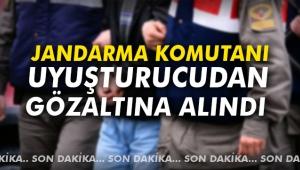 Jandarma komutanı uyuşturucudan gözaltına alındı