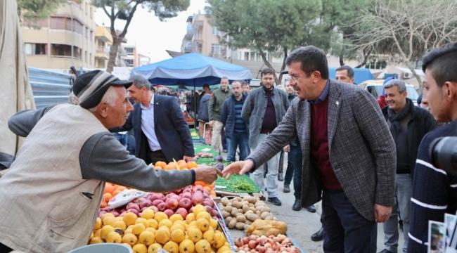 Nihat Zeybekci: Köylünün ayağına çamur değmeyecek