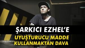 Şarkıcı Ezhel'e uyuşturucu madde kullanmaktan dava