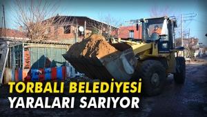 Torbalı Belediyesi yaraları sarıyor