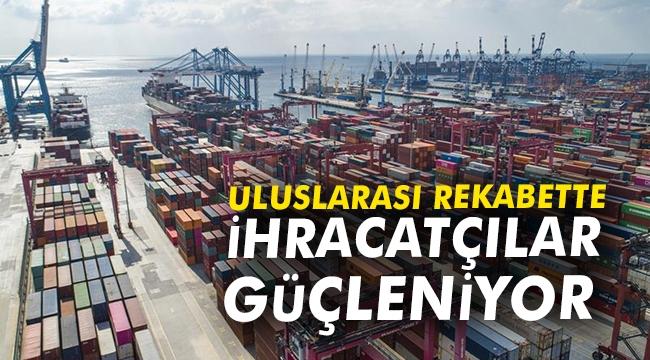 Uluslararası rekabette ihracatçılar güçleniyor