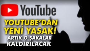 YouTube'dan yeni yasak! Artık o şakalar kaldırılacak
