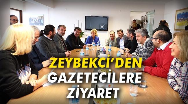 Zeybekci'den gazetecilere ziyaret