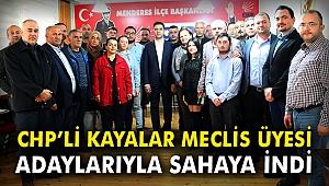 CHP'li Kayalar, Meclis üyesi adaylarıyla sahaya indi