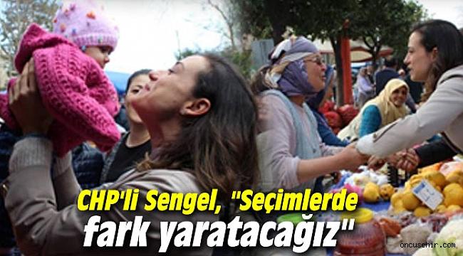 CHP'li Sengel: Seçimlerde fark yaratacağız