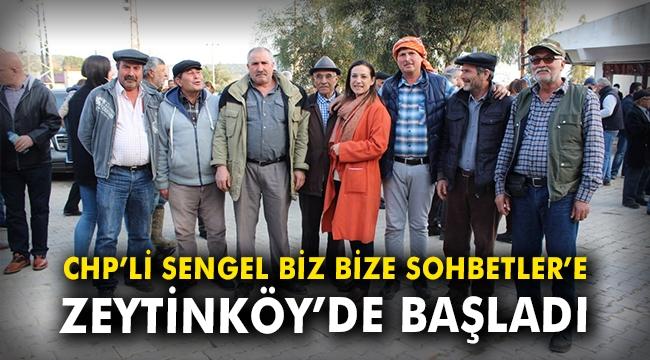 Filiz Ceritoğlu Sengel Biz Bize Sohbetler'e Zeytinköy'de başladı