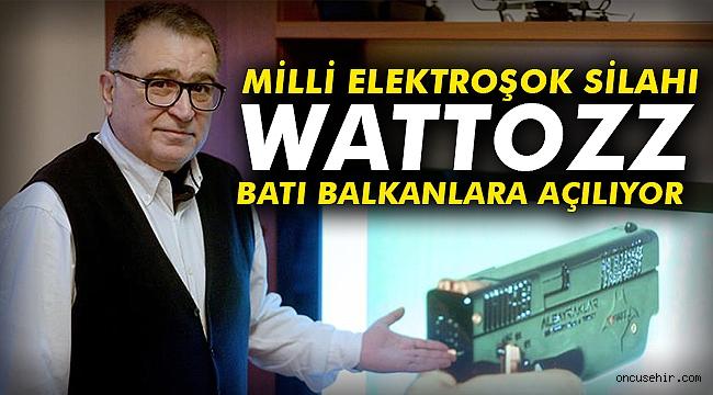 Milli elektroşok silahı 'Wattozz' Batı Balkanlar'a açılıyor