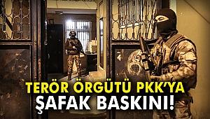 Terör örgütü PKK'ya şafak baskını: 16 gözaltı