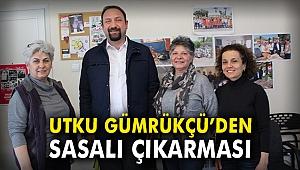 Utku Gümrükçü'den Sasalı çıkarması!
