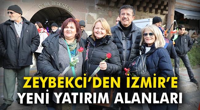 Zeybekci'den İzmir'e yeni yatırım alanları