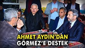 Ahmet Aydın'dan Görmez'e destek