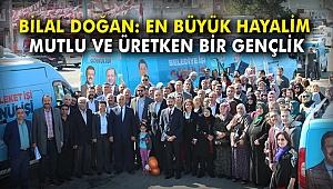 AK Partili Doğan: En büyük hayalim mutlu ve üretken bir gençlik