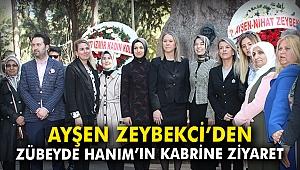 Ayşen Zeybekci'den Zübeyde Hanım'ın kabrine ziyaret