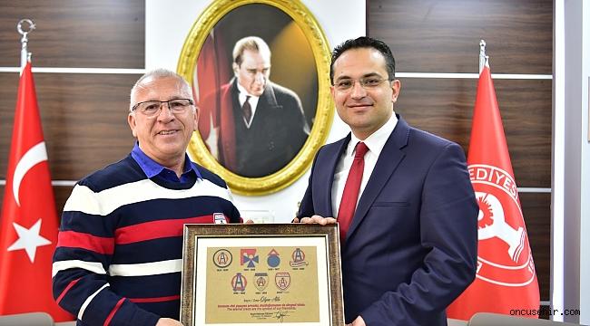 Başkan Atila Altınordu'dan süper lige çıkmasını istedi