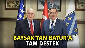 Baysak'tan Batur'a tam destek