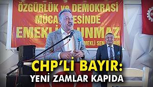 CHP'li Bayır: Yeni zamlar kapıda