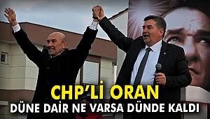 CHP'li Oran: Düne dair ne varsa dünde kaldı