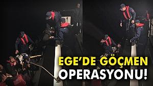 Ege'de göçmen operasyonu!