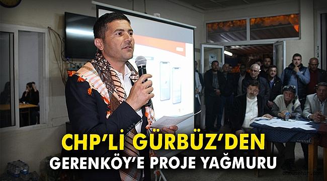 Fatih Gürbüz'den Gerenköy'e proje yağmuru