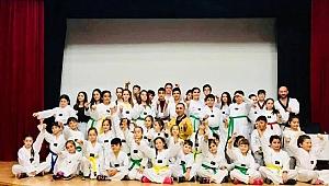 Foça'da taekwondo heyecanı
