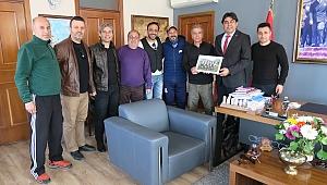 Futbol masterleri, Başkan Demirağ'a teşekkür etti