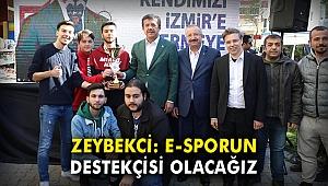 Nihat Zeybekci: E-sporun destekçisi olacağız