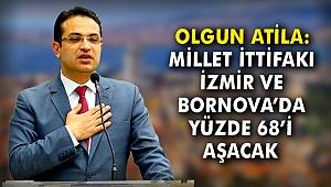 Olgun Atila: Millet İttifakı, İzmir ve Bornova'da yüzde 68'i aşacak