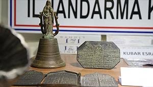 Operasyonda 'tarihi eserler' bulundu