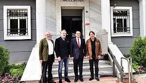 Sepil'den Başkan Atila'ya Stat teşekkürü