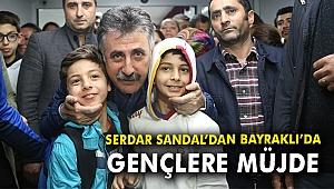 Serdar Sandal'dan Bayraklı'da gençlere müjde