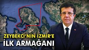 Zeybekci'nin İzmir'e ilk armağanı