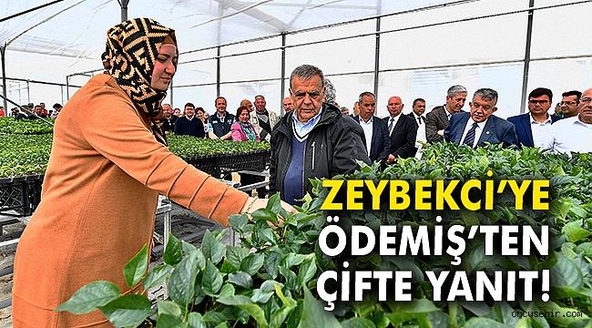 Zeybekci'ye Ödemiş'ten çifte yanıt
