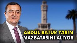 Abdül Batur yarın mazbatasını alıyor