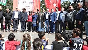 Başkan Sandal, Spil Sis Dağı Yayla Şenliği'ne katıldı
