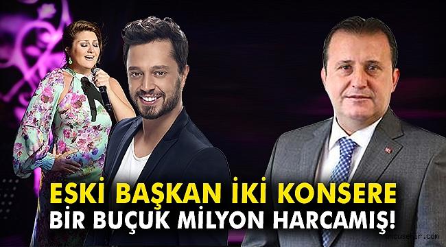 Eski Başkan Bülent Soylu iki konsere bir buçuk milyon harcamış!