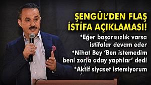 İstifa eden AK Parti İzmir İl Başkanı Şengül'den flaş açıklamalar!