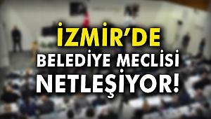 İzmir'de belediye meclisi netleşiyor