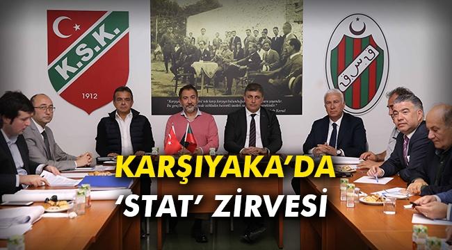 Karşıyaka'da 'stat' zirvesi