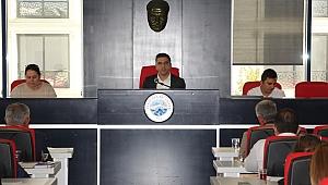 Menderes Belediyesi'nin İlk Meclis'i Gerçekleşti