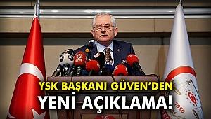 YSK Başkanı Güven'den yeni açıklama