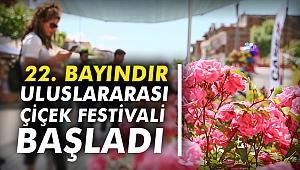 22. Bayındır Uluslararası Çiçek Festivali başladı
