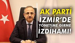 AK Parti İzmir'de yönetime girme izdihamı!