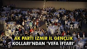 AK Parti İzmir İl Gençlik Kolları'ndan 'vefa iftarı'