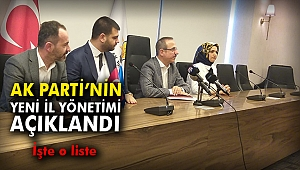 AK Parti İzmir İl Yönetimi Ankara'dan onay aldı!