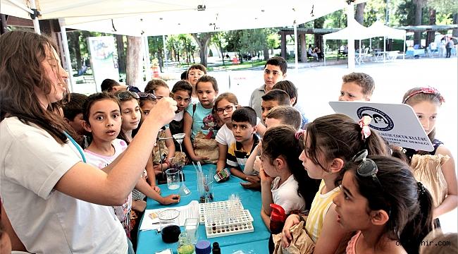 Bornovalı çocuklar bilimle aydınlanacak